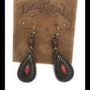 Lucky brand earrings 6000 (z10)